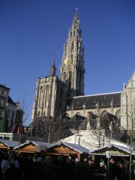 Kerstshoppen Kerstmarkten O A Dusseldorf Antwerpen Duitsland